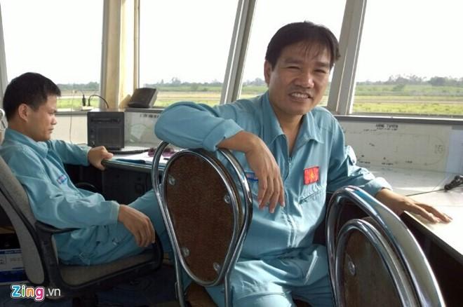 Phi công Nguyễn Hữu Cường. Ảnh: Nguyễn Thắng (Zing)