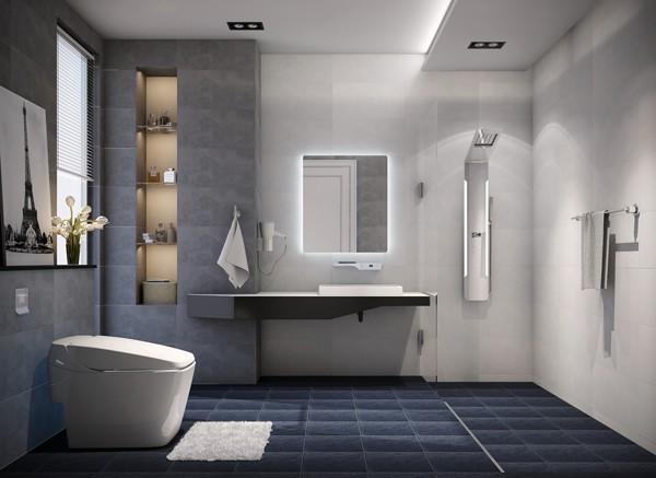 Phòng tắm dành cho người thành đạt