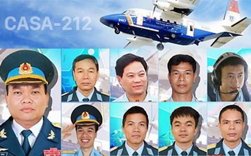 9 thành viên đã hy sinh khi CASA-212 gặp nạn