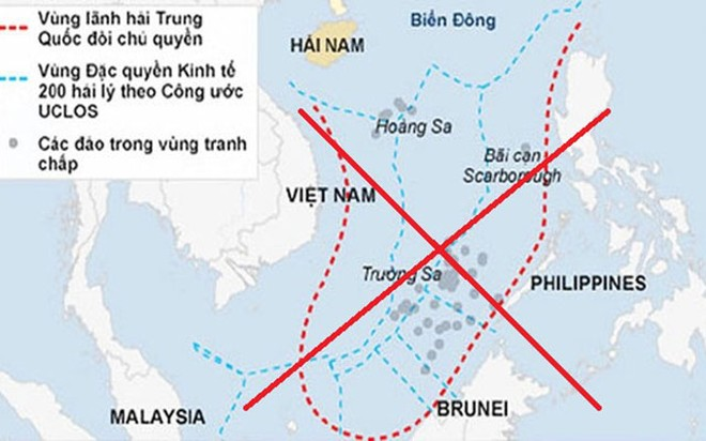 Đường lưỡi bò phi lý của Trung Quốc ở Biển Đông đã bị PCA bác bỏ