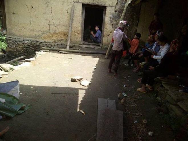 Ngôi nhà xảy ra vụ thảm án kinh hoàng. Ảnh: Nguyễn Ngọc Cường