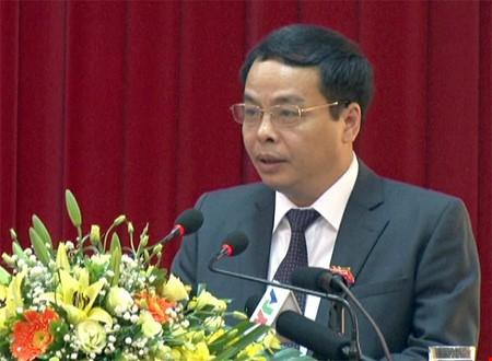 Ông Ngô Ngọc Tuấn – Chủ tịch HĐND, Trưởng ban Tổ chức Tỉnh uy Yên Bái
