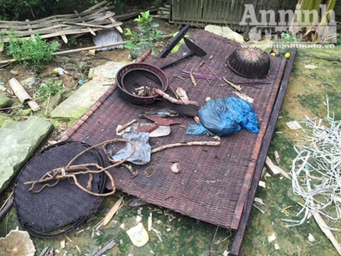 Căn nhà nơi xảy ra vụ thảm sát 4 người hoang phế lạnh người