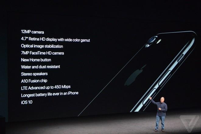 iPhone 7 ra mắt: Chống nước, camera kép, giá từ 649 USD ảnh 2