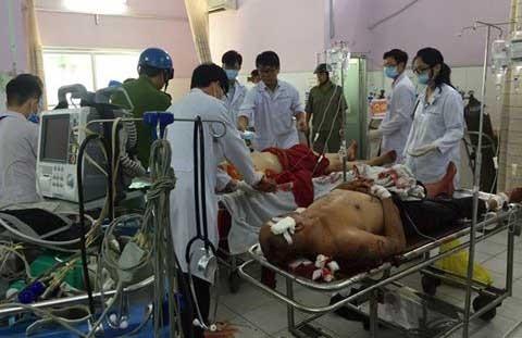 Tấn công bằng hung khí ở chùa, 1 người chết và nhiều người bị thương
