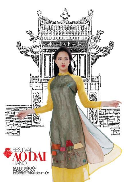 Festival áo dài Hà Nội - Festival của những nỗi nhớ