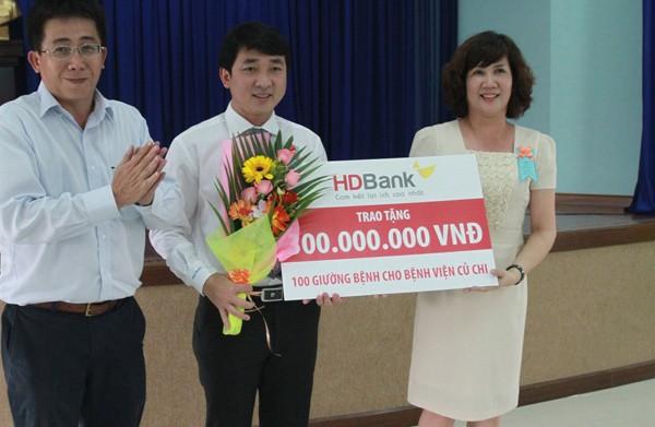 HDBank tài trợ giúp phát triển bệnh viện tuyến cơ sở ở TP.HCM