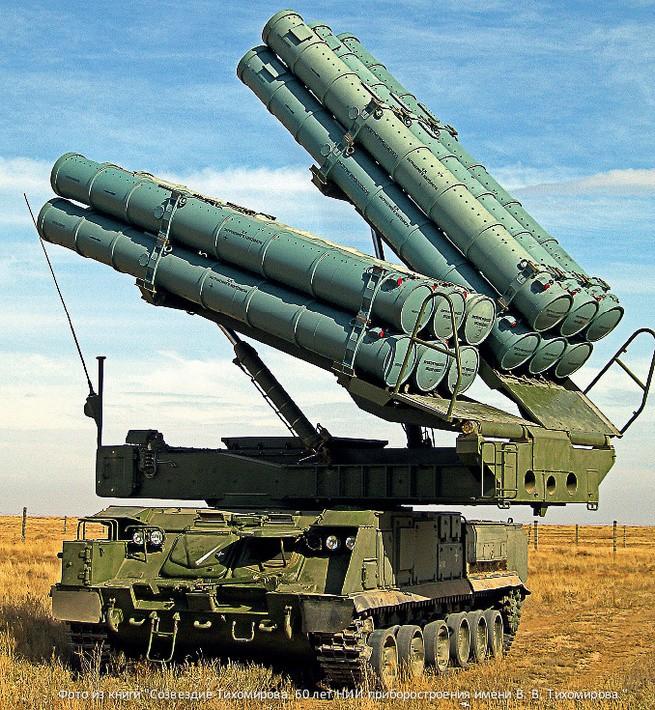 Figure 1 Một hệ thống tên lửa đối không Buk-M3