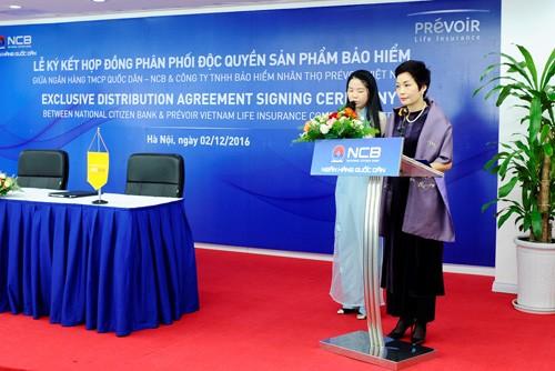 Bà Trần Hải Anh – Phó Chủ tịch HĐQT NCB