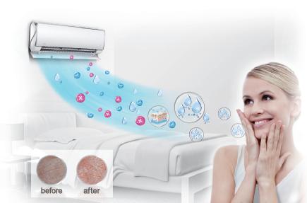 Điều hòa Midea có chức năng lọc không khí, diệt khuẩn