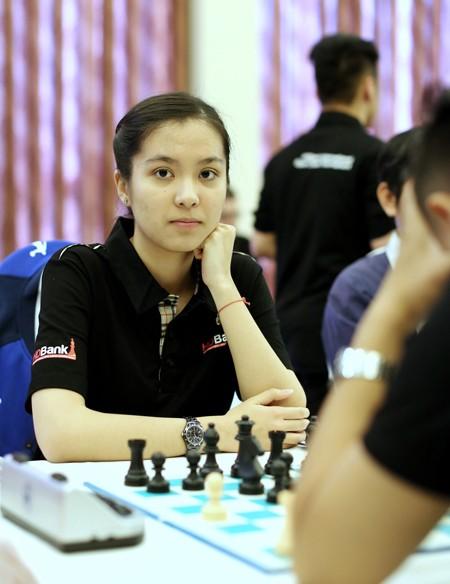 3 nữ tướng cờ vua Việt Nam kiên cường thủ hòa bậc cao thủ