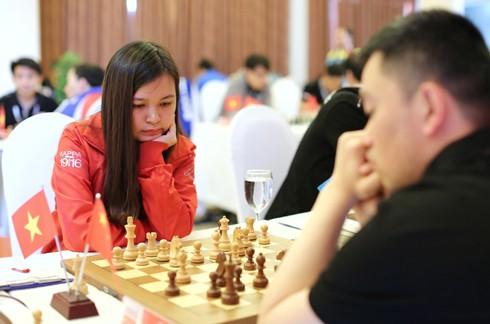 3 nữ tướng cờ vua Việt Nam kiên cường thủ hòa bậc cao thủ ảnh 1