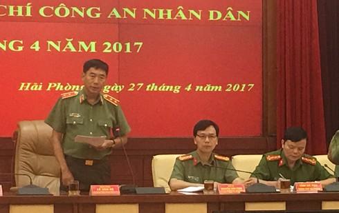 Trung tướng Lê Văn Đệ, Phó Tổng cục trưởng Tổng cục Chính trị CAND đ