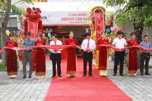Chính thức khai trương HDBank Sông Đốc