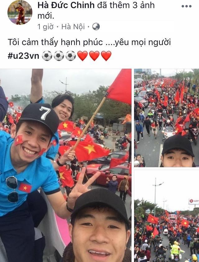 Chia sẻ của tiền đạo Hà Đức Chinh