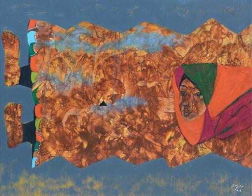 """Triển lãm của nhóm 6 họa sỹ với chủ đề """"T.o.a.n"""" ảnh 2"""