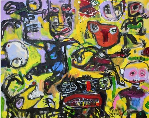 """Triển lãm của nhóm 6 họa sỹ với chủ đề """"T.o.a.n"""" ảnh 4"""