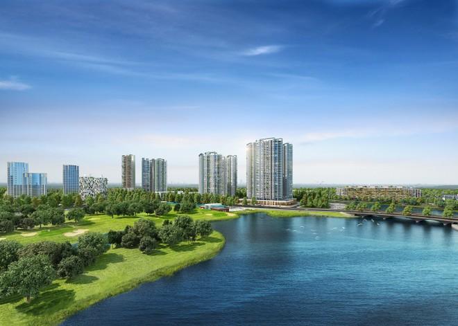 """Khu căn hộ Aqua Bay, Ecopark - nơi """"nghỉ dưỡng"""" lý tưởng của người dân thành phố"""