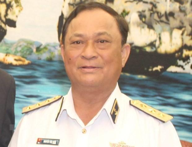 Cựu Đô đốc Nguyễn Văn Hiến, nguyên Thứ trưởng Bộ Quốc phòng. (Ảnh: TTXVN)
