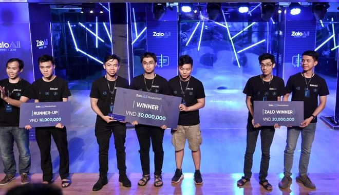 Các đội thi xuất sắc nhất của Zalo AI Hackathon 2019