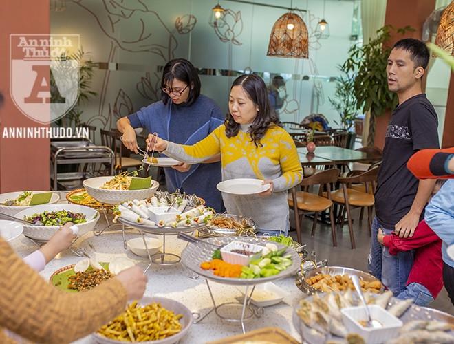 Nhiều món ngon, đẹp mắt và bổ dưỡng được chế biến theo phương pháp thực dưỡng ở nhà hàng chay thực dưỡng Padman