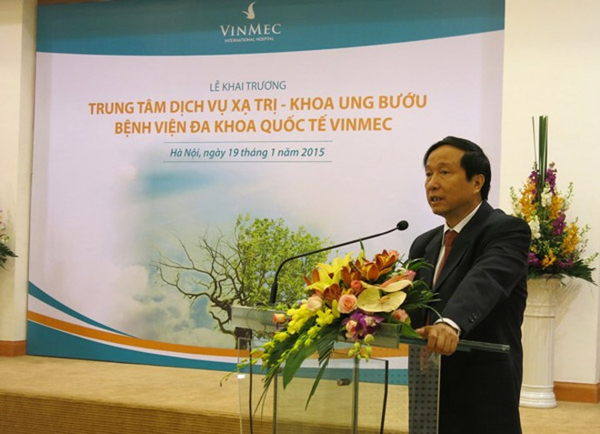 Vinmec khai trương trung tâm dịch vụ xạ trị hiện đại hàng đầu Việt Nam ảnh 1
