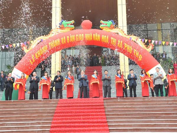 VietinBank tài trợ xây dựng Nhà văn hóa thị xã Phú Thọ ảnh 3