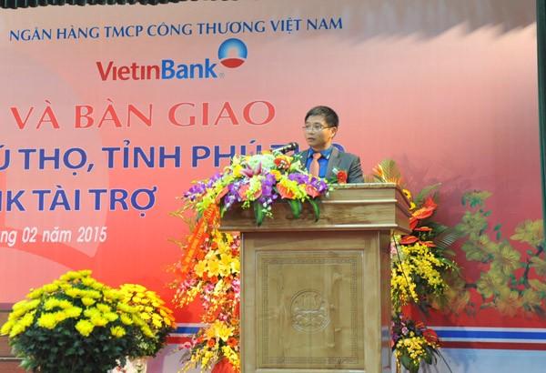 VietinBank tài trợ xây dựng Nhà văn hóa thị xã Phú Thọ ảnh 1