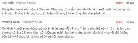 Lời xin lỗi của Trang Trần là bằng chứng vạch rõ âm mưu của kẻ xấu ảnh 3