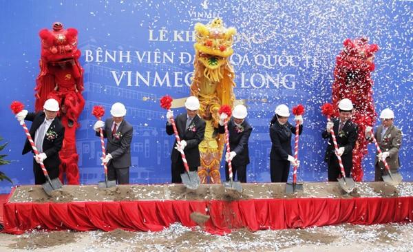 Vingroup khởi công bệnh viện Vinmec Hạ Long ảnh 1