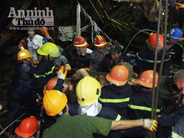 Kết thúc cứu hộ vụ sập giàn giáo: 13 người tử vong, 28 người bị thương ảnh 2