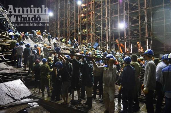 Vụ sập giàn giáo tại Formosa (Hà Tĩnh): 17 người đã tử vong ảnh 1