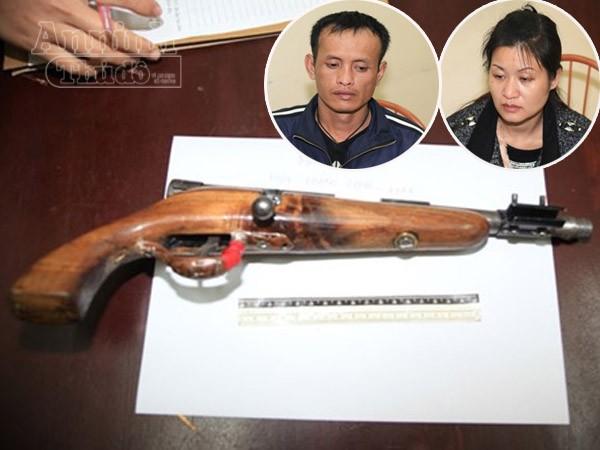 """Cặp đôi """"găm"""" súng vận chuyển ma túy đá ảnh 1"""
