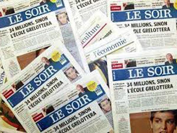 """Nhật báo """"Le Soir"""" của Bỉ bị tin tặc tấn công ảnh 1"""