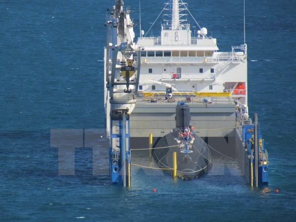 Tàu ngầm lớp Kilo Đà Nẵng đã vào vịnh Cam Ranh an toàn ảnh 1