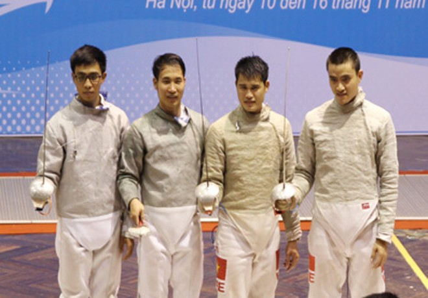 Đoàn Hà Nội dẫn đầu tại giải đấu kiếm VĐQG 2015 ảnh 2
