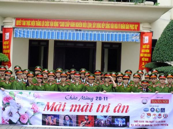 Sinh viên Hà Nội Mãi mãi tri ân các thầy giáo, cô giáo kính yêu ảnh 10