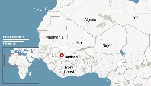 Phiến quân tấn công khách sạn ở Mali, bắt cóc 170 con tin ảnh 1