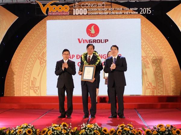 Vingroup tiếp tục là doanh nghiệp tư nhân nộp thuế lớn nhất Việt Nam ảnh 1