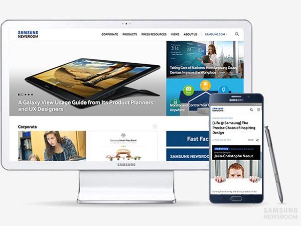 Samsung ra mắt trang tổng hợp tin tức và nội dung kỹ thuật số ảnh 1