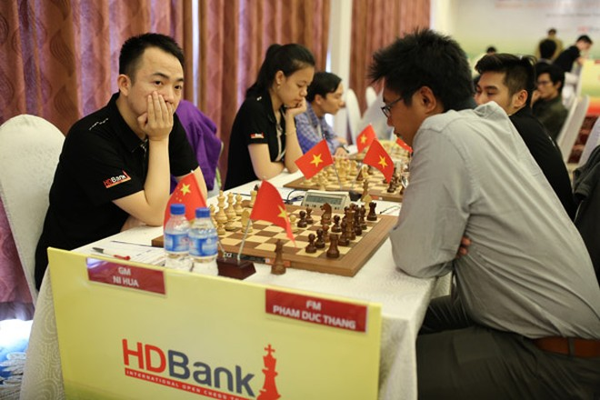 Giải Cờ vua Quốc tế HDBank 2016: Thanh An bất ngờ cầm hòa cựu kỳ thủ số 1 Việt Nam Đào Thiên Hải ảnh 5