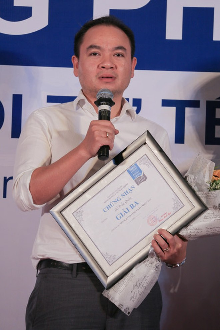 """Báo An ninh Thủ đô đoạt giải Ba giải Báo chí """"Đồng hành cùng phát triển"""" ảnh 2"""