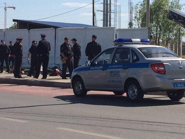 Cảnh sát bắt giữ một số nghi phạm (Nguồn: RT)