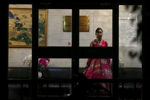 Một nhà hàng Triều Tiên ở Bắc Kinh, Trung Quốc (Ảnh: Reuters)