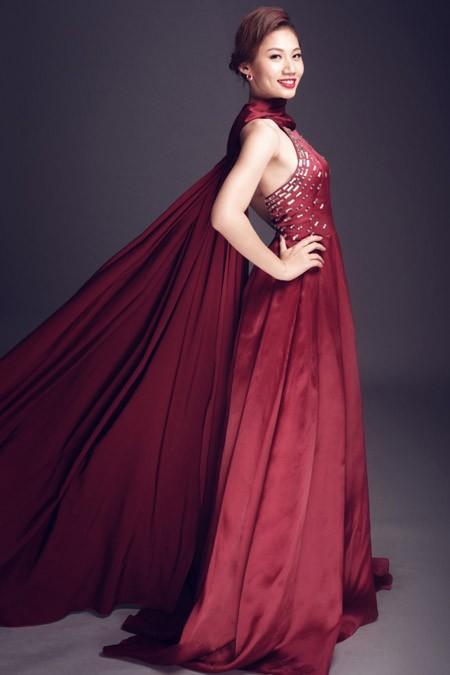 Ngắm vẻ đẹp rạng rỡ của Top 10 Hoa khôi Áo dài trước đêm chung kết ảnh 2
