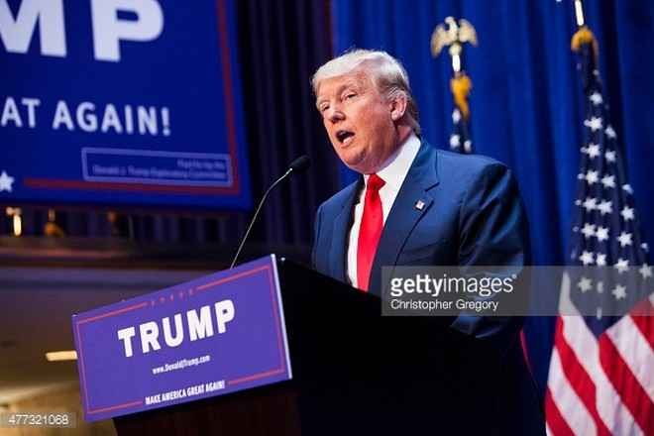 Tỷ phú Donald Trump, ứng viên Tổng thống Mỹ của Đảng Cộng hòa