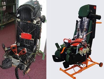 Ghế phóng K-36DM trang bị cho nhiều dòng tiêm kích, trong đó có Su-30MK2 và nhiều máy bay khác