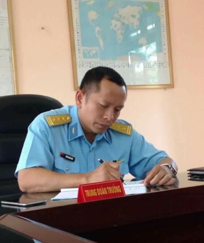 Anh là Phó Trung đoàn trưởng, Tham mưu trưởng Trung đoàn 923, Sư đoàn 371