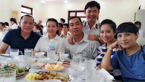 Hình ảnh đời thường hiếm hoi của Thượng tá Trần Quang Khải