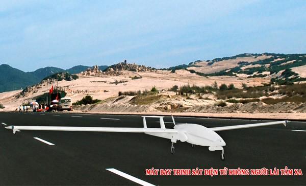 Máy bay trinh sát điện tử không người lái